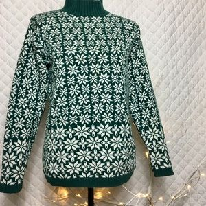 GAP Thick Cotton Turtleneck Sweater S
